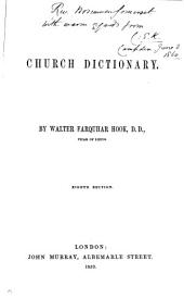 A Church dictionary