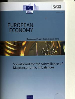 Scoreboard For The Surveillance Of Macroeconomic Imbalances
