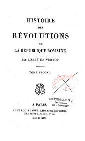 Histoire des révolutions de la république romaine