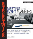 Streetwise Meeting and Event Planning PDF