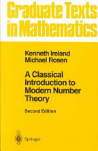 A Classical Introduction to Modern Number Theory PDF