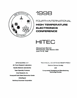 1998 Fourth International High Temperature Electronics Conference PDF