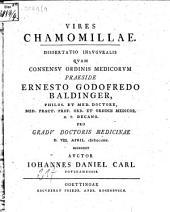 Vires chamomillae: diss. inaug