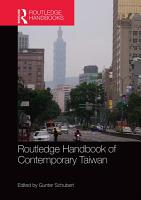 Routledge Handbook of Contemporary Taiwan PDF