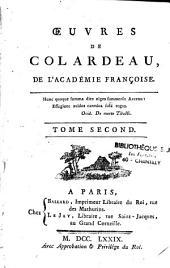 Oeuvres de Colardeau, de l'académie françoise