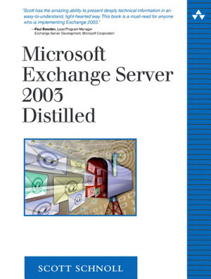 Microsoft Exchange Server 2003 Distilled PDF
