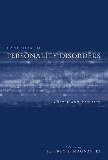 Handbook of Personality Disorders PDF