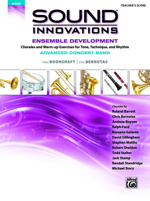 Sound Innovations for Concert Band  Ensemble Development for Advanced Concert Band   Conductor s Score PDF