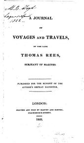A Journal of Voyages and Travels