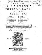 Villae J. B. Portae Libri XII