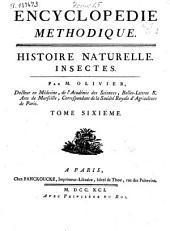 Encyclopédie methodique: histoire naturelle : insectes