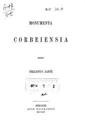 Bibliotheca rerum germanicarum: Volume 1