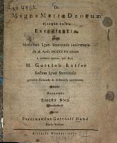 De magna matre Deorum eiusque cultu, exercitatio