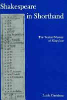 Shakespeare in Shorthand PDF