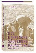 Die ethnische S  uberung Pal  stinas PDF
