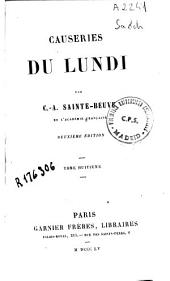 Causeries du Lundi: Volume 8