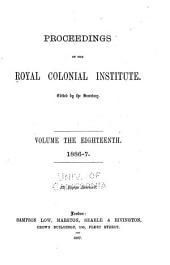 Proceedings: Volume 18