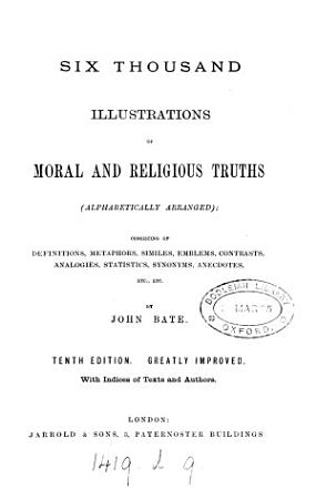 Six thousand illustrations of moral and religious truths PDF