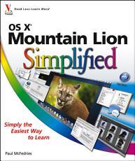 OS X Mountain Lion Simplified PDF
