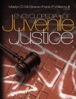 Encyclopedia of Juvenile Justice PDF