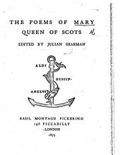 The Poems of Mary, Queen of the Scots