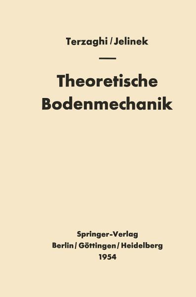 Theoretische Bodenmechanik PDF