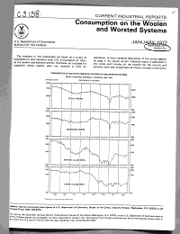 Consumption on the Woolen and Worsted Systems