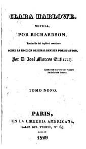 Clara Harlowe: novela, Volumen 9