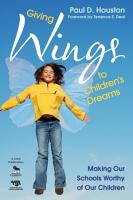 Giving Wings to Children   s Dreams PDF
