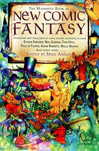 The Mammoth Book of New Comic Fantasy PDF