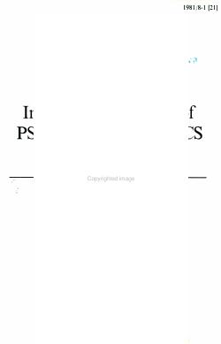 International Journal of Psycholinguistics PDF
