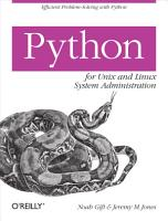 Python for Unix and Linux System Administration PDF