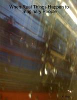 When Real Things Happen to Imaginary People PDF