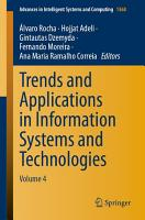 Trends and Applications in Information Systems and Technologies PDF