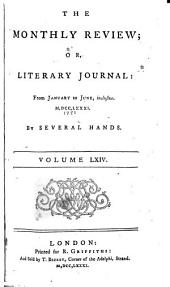 The Monthly Review, Or, Literary Journal: Volume 64