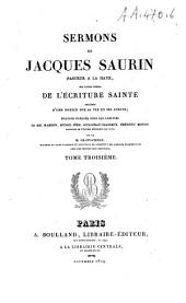 Sermons Sur Divers Textes de L'Ecriture Sainte: Volume8