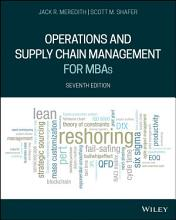 Operations and Supply Chain Management for MBAs PDF