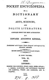 A pocket encyclopædia, or library of general knowledge: Volume 2