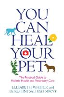 You Can Heal Your Pet PDF