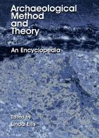Archaeological Method and Theory PDF
