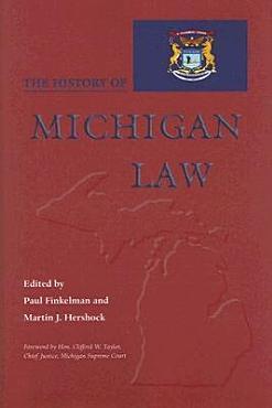 The History of Michigan Law PDF