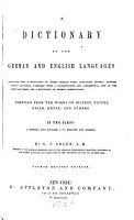 A Dictionary of the German and English Language PDF