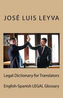 Legal Dictionary for Translators