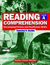 Reading Comprehension Teachers Guide Level A: Level A