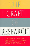 The Craft Of Research Book PDF