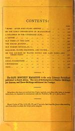 The Cape Monthly Magazine