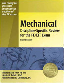Mechanical Discipline specific Review for the FE EIT Exam Book
