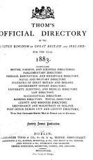 Thom s Directory of Ireland PDF