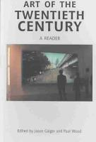 Art of the Twentieth Century PDF
