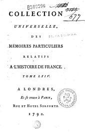 Mémoires de Pierre de Bourdeille, abbé et seigneur de Brantôme